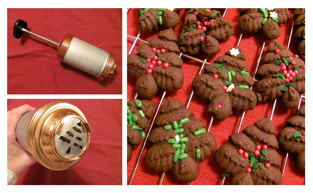 The Chocolate Christmas Tree Cookies
