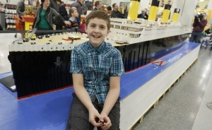 Icelandic boy creates large Titanic replica with Legos. How it helps with his autism ?